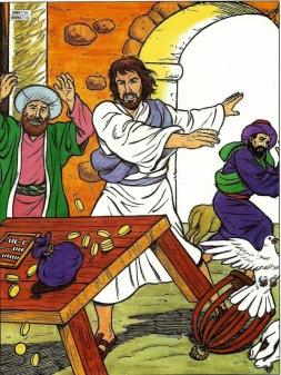 """Résultat de recherche d'images pour """"jésus chassant les marchands du temple"""""""